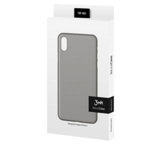 Zadní kryt 3mk NaturalCase pro Apple iPhone 11 Pro Max, transparentní černá