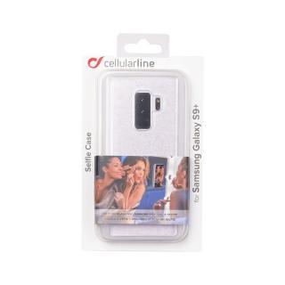 Zadní kryt Cellularline SELFIE CASE Samsung Galaxy S9  transparentní