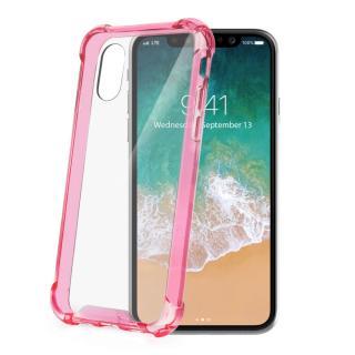 Zadní kryt CELLY Armor pro Apple iPhone X, růžový