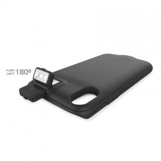 Zadní kryt CELLY Powercase pro Apple iPhone X/XS s baterií a bezdrátovým dobíjením, 5W, černý