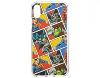 Zadní kryt DC League of Justice 001 pro Apple iPhone XS, multicolor