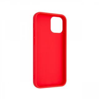 Zadní kryt FIXED Story pro Apple iPhone 12, červený