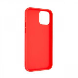 Zadní kryt FIXED Story pro Apple iPhone 12 Max/12 Pro, červený