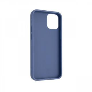 Zadní kryt FIXED Story pro Apple iPhone 12, modrý