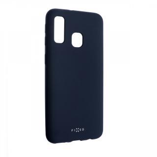 Zadní kryt FIXED Story pro Samsung Galaxy A40, modrý