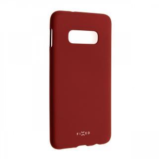 Zadní kryt FIXED Story pro Samsung Galaxy S10e, červená