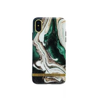 Zadní kryt Marble Phone Case Cover pro Apple iPhone XS Max, zelená