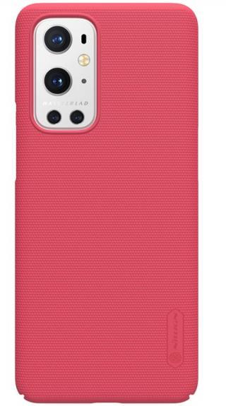 Zadní kryt Nillkin Super Frosted pro OnePlus 9 Pro, jasně červená