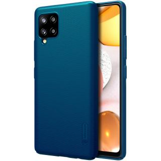 Zadní kryt Nillkin Super Frosted pro Samsung Galaxy A42, modrá