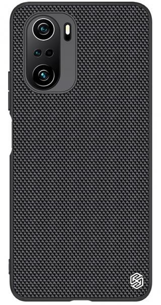 Zadní kryt Nillkin Textured Hard Case pro Xiaomi Poco F3, černá