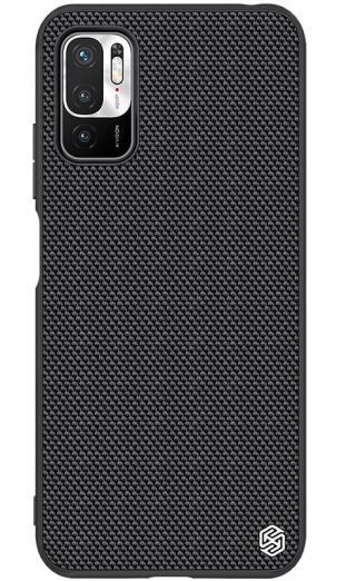 Zadní kryt Nillkin Textured Hard Case pro Xiaomi Redmi Note 10 5G / POCO M3 Pro 5G, černá