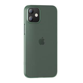 Zadní kryt USAMS US-BH610 Gentle Series Apple iPhone 12 Pro Max transparent green