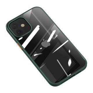 Zadní kryt USAMS US-BH627 Janz Series Apple iPhone 12/12 Pro dark green