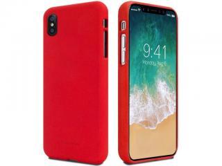 Zadní pouzdro Mercury Soft Feeling pro Apple iPhone 12 Max Pro, červená