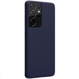 Zadní silikonový kryt Nillkin Flex Pure Liquid pro Samsung Galaxy S21 Ultra, blue