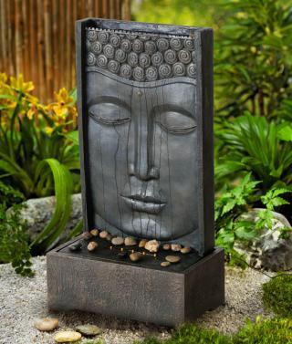Zahradní fontána buddha