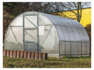 Zahradní skleník Gutta ATLAS 8 x 3 m, 4 mm