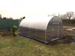 Zahradní skleník IGEL GLORIA 4 x 2,6 m, 4 mm