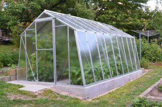 Zahradní skleník Limes Hobby H 7/4,5 PC 4 mm