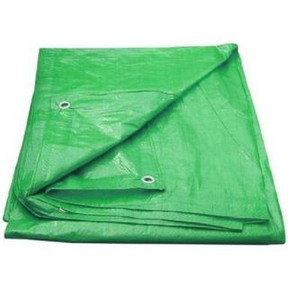 Zakrývací plachta s oky 4x5m 100g/m2 zelená 764076