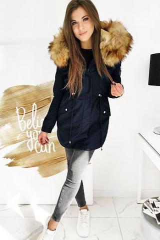 ZALMAN womens winter parka jacket, navy blue TY1522 dámské Neurčeno L