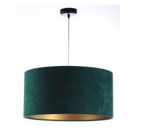 Závěsná lampa  S Zelená S