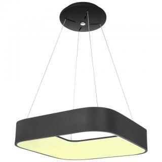 ZÁVĚSNÉ LED SVÍTIDLO, 60/150 cm - černá 60/150