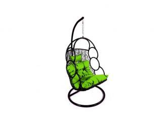 Závěsné relaxační křeslo SEWA, zelený sedák