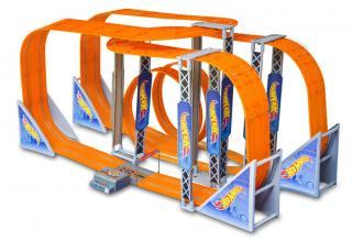 Závodní dráha Hot Wheels Zero Gravity 1300 cm s adaptérem