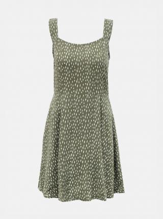 Zelené vzorované šaty Jacqueline de Yong Staar dámské zelená XL