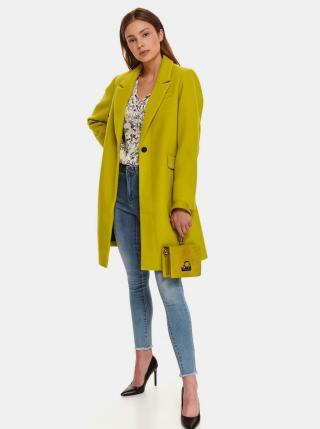 Zelený dámský kabát TOP SECRET dámské zelená XL