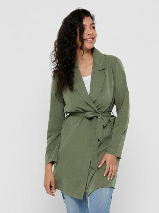 Zelený trenčkot Jacqueline de Yong Paschal dámské zelená M