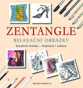 Zentangle - Relaxační obrázky - Krahula Beckah