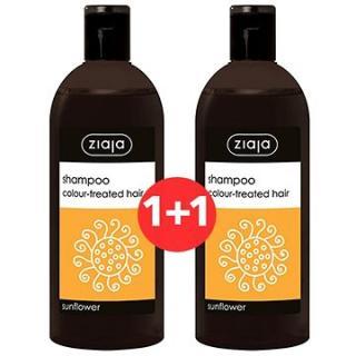 ZIAJA Family Šampon na barvené vlasy - slunečnice 2 × 500 ml