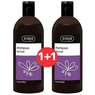 ZIAJA Family Šampon na mastné vlasy - levandule 2 × 500 ml