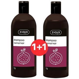 ZIAJA Family Šampon na normální vlasy - fík 2 × 500 ml