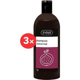 ZIAJA Family Šampon na normální vlasy - fík 3 × 500 ml