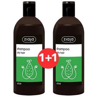 ZIAJA Family Šampon na suché vlasy - aloe 2 × 500 ml