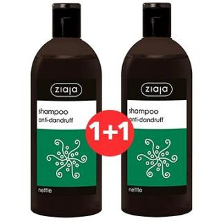 ZIAJA Family Šampon proti lupům - kopřiva 2 × 500 ml