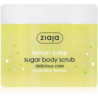 Ziaja Lemon Cake zjemňující cukrový peeling 300 ml dámské 300 ml