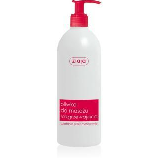 Ziaja Massage Oil hřejivý masážní olej 500 ml dámské 500 ml