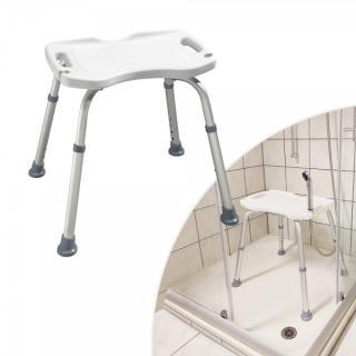 Židle na sprchování s držákem sprchy