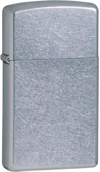 Zippo Benzínový zapalovač Slim® Street Chrome™ 25074
