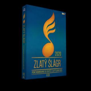 Zlatý Šlágr 2020 - 5 CD - audiokniha