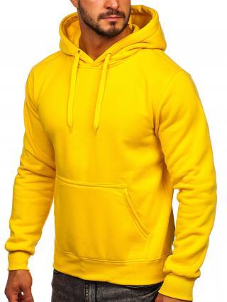 Žlutá pánská mikina s kapucí Bolf 2009 M