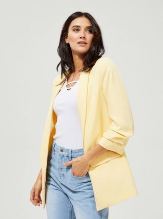 Žluté dámské sako Moodo dámské žlutá XS