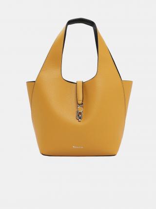 Žlutý oboustranný shopper s odnímatelným pouzdrem Tamaris dámské žlutá