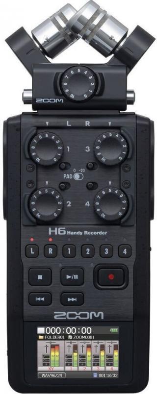 Zoom H6 Black