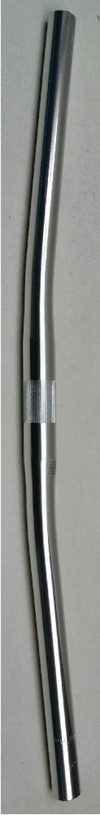 Zoom řidítka AL 110PP 25,4/600mm/6 st.rovná stř.le
