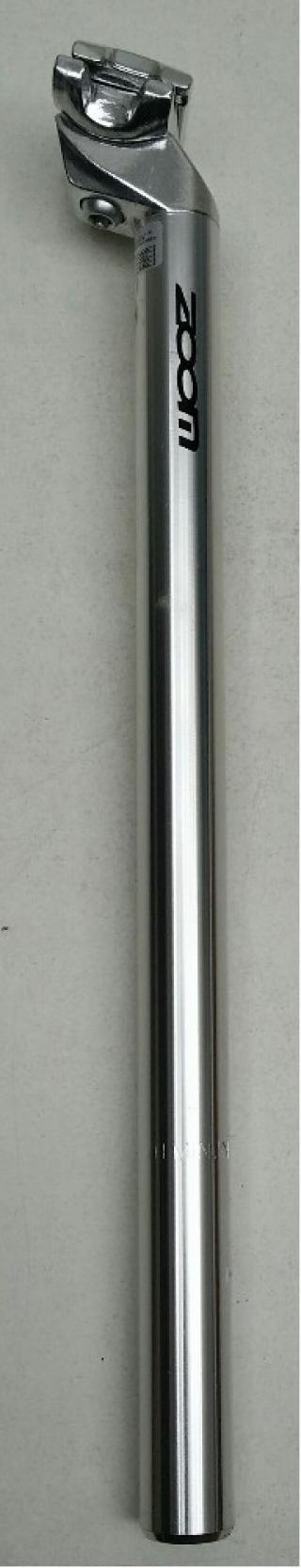 Zoom sedlovka SP-C207 AL/AL zámek 25,4/400mm stříb
